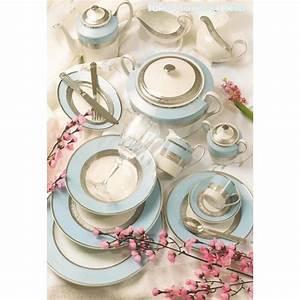 Vaisselle En Porcelaine : service de table porcelaine 84 pieces ~ Teatrodelosmanantiales.com Idées de Décoration