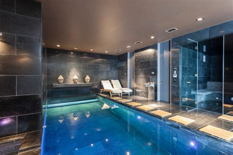 wimbledon mansion contemporary swimming pool hot tub