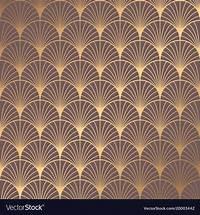 art deco images Art deco pattern Royalty Free Vector Image - VectorStock