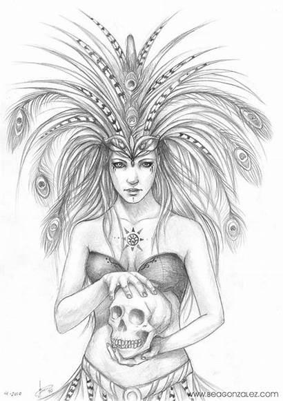 Gonzalez Bea Deviantart Drawing Macaw Fantasy Queen