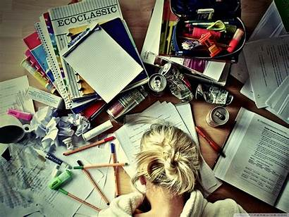 Studying Study Desk Hard Desktop Wallpapers Smart