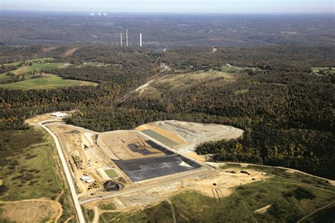 industrial solid waste landfills