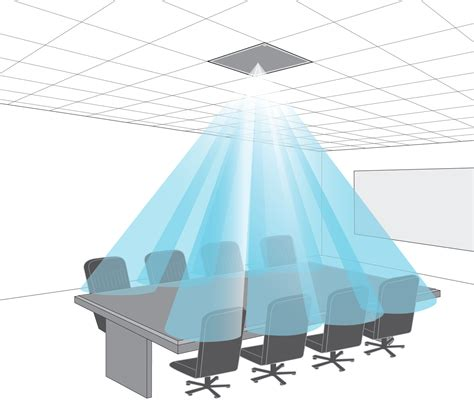Ceiling Mic Array by Clear Away Boardroom Clutter Ceiling Microphones