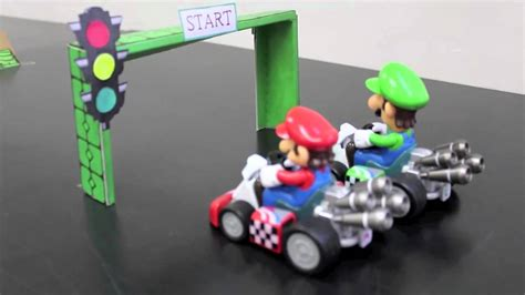 Mario Kart Racing Toys - YouTube