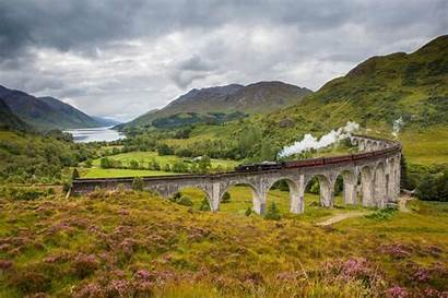 Scotland Glenfinnan Viaduct Film Locations Iconic Loch