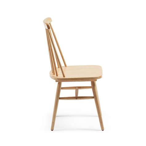 lot chaises lot de 2 chaises en bois vintage tressia par drawer fr