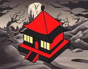 Maison Japonaise Dessin : dessin de rr sidence japonaise colorie par membre non inscrit le 10 de septembre de 2016 ~ Melissatoandfro.com Idées de Décoration