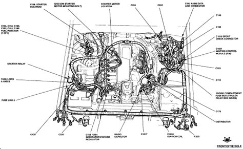 1990 Ford F 250 5 0 Fuse Diagram by 1994 Ford F 150 V8 Engine Diagram Wiring Diagram