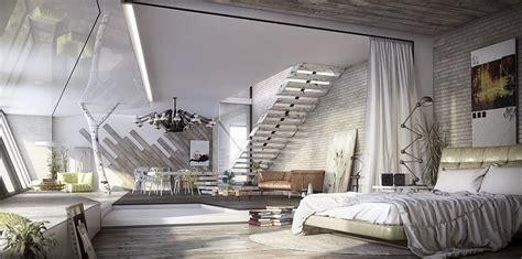 industrial bedrooms    love  sleep