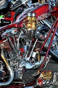 Custom Shovelhead Engine