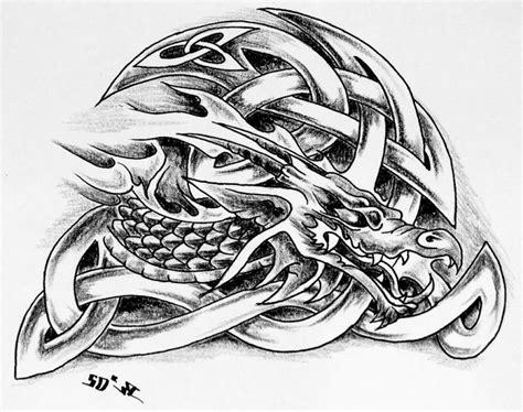 celtic dragon tattoo designs pinterest pinterest