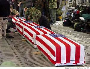Flag-draped coffin photos released / Pentagon had resisted ...