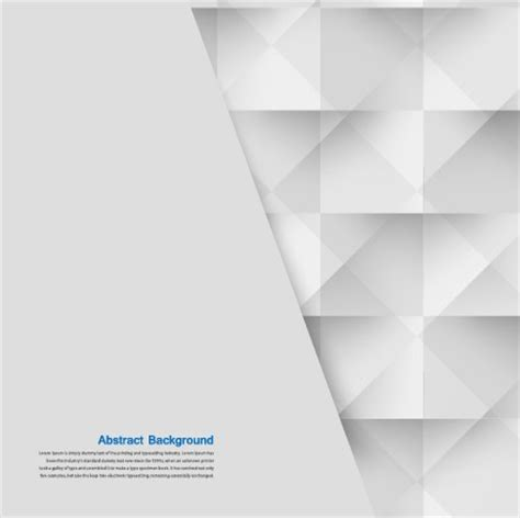 Abstract Black And White Design Background by Abstract White Square Vector Background 03 Vector