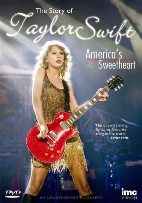 The Story Of Taylor Swift  America's Sweetheart Dvd Zavvi
