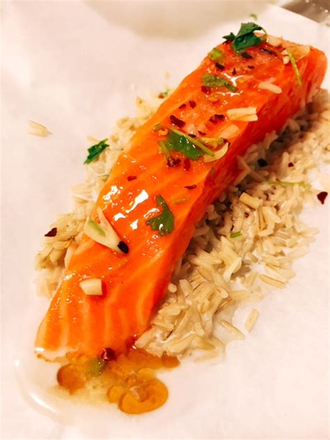 Baked Salmon Parcels  Rebecca Wilson Nutrition