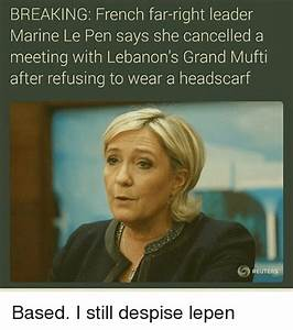 BREAKING French Far-Right Leader Marine Le Pen Says She ...