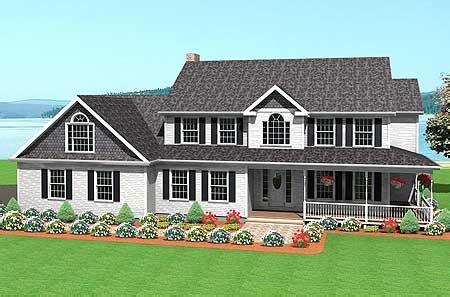 Story Home Plan  Lavish Touches Tm
