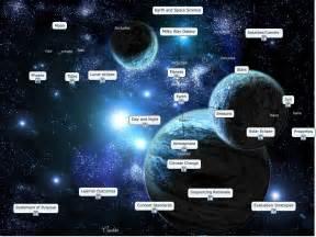 Earth Milky Way Galaxy Map
