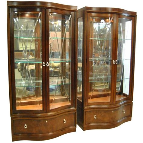 thomasville bogart collection quot bel air quot mahogany curio