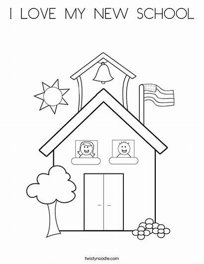 Coloring Twistynoodle Worksheet Preschool Kindergarten Worksheets Sheet