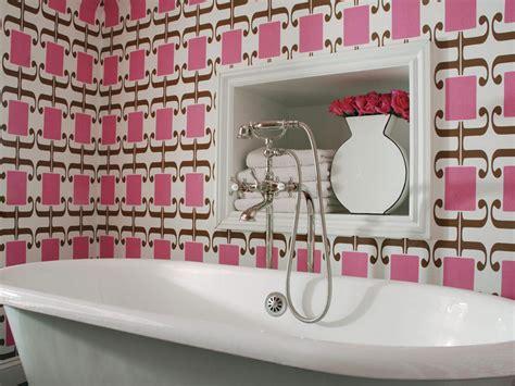 pink bathroom decor ideas pictures tips  hgtv hgtv