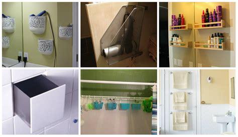 Kleines Badezimmer Hacks by Top 18 Clevere Hacks F 252 R Kleines Badezimmer Nettetipps De