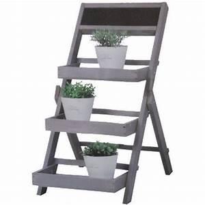 Etagere Pour Fleur : etagere bois pour fleurs ~ Zukunftsfamilie.com Idées de Décoration