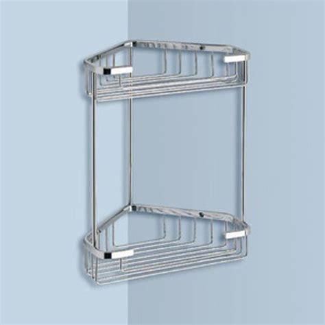 shop nameeks gedy wire  tier chrome brass bathroom shelf