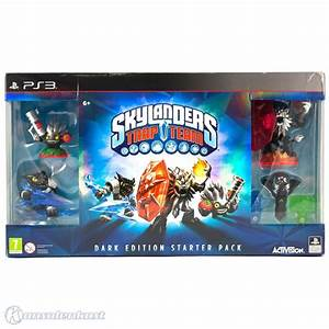PS3 Skylanders: Trap Team Starter Pack - Dark Edition ...
