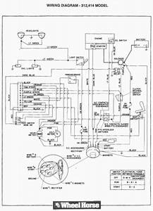 Toro Wheel Horse Wiring Diagram