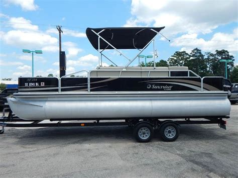 Lowe Boats Phone Number by 2011 Lowe Sf234 Pontoon Boat In Conroe Tx Park And Sell