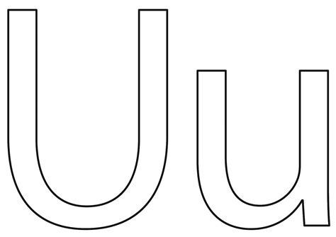 The Letter U For Preschoolers