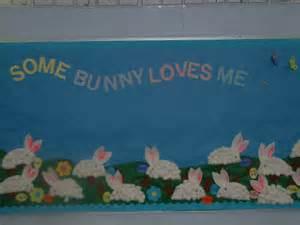 Preschool Easter Bulletin Board Idea