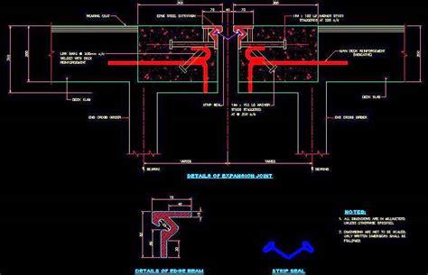 expansion joint detail plan n design