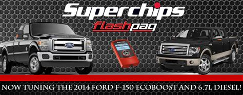 Superchips Tunes The 2014 Ecoboost F-150 And 6.7 Diesel