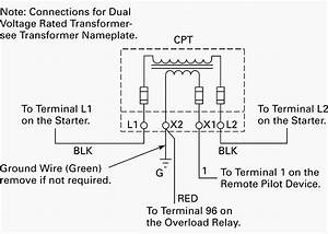 Control Power Transformer Wiring Diagram