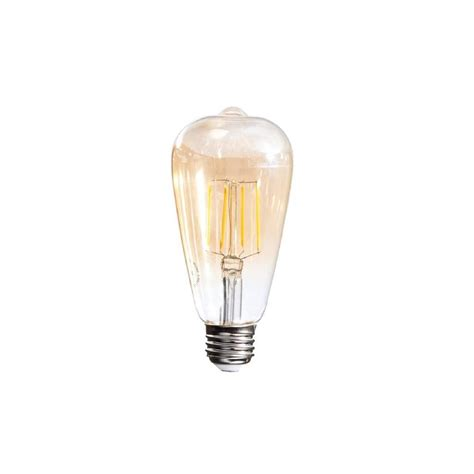 40w equivalent soft white vintage filament st64 dimmable