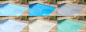 couleur liner piscine liner piscine couleur sable quelle With piscine avec liner gris clair 1 nos realisations avec liner gris clair reynaud piscines