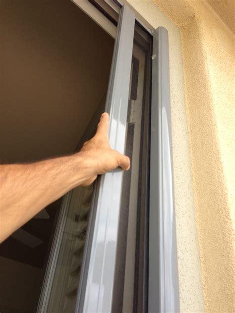 install sliding screen door malibu disappearing screen doors installation