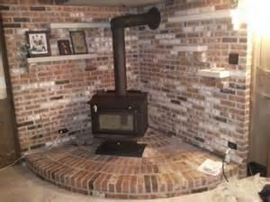 Wood Stove Fireplace Insert Installation
