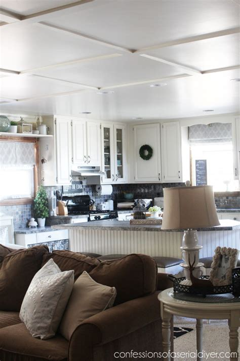 faux coffered ceiling confessions   serial