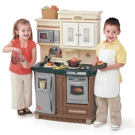 lifestyle  traditions kitchen kids play kitchens step