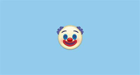 clown face emoji  emojipedia