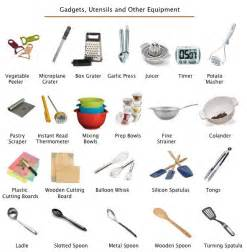 Kitchen Utensils Equipments Home Decor and Interior Design