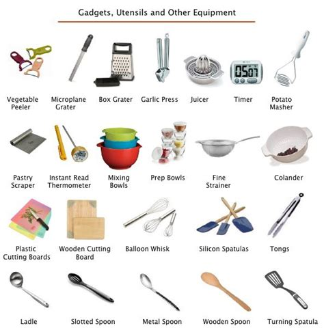 kitchen tools and equipment essential cooking equipment foodell