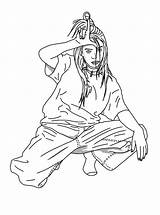 Billie Eilish Coloring Pages Printable sketch template