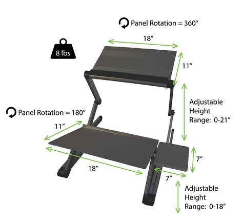 convert your desk to a stand up desk amazon com workez standing desk conversion kit