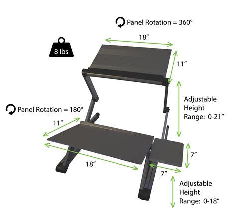 cheap standing desk converter amazon com workez standing desk conversion kit