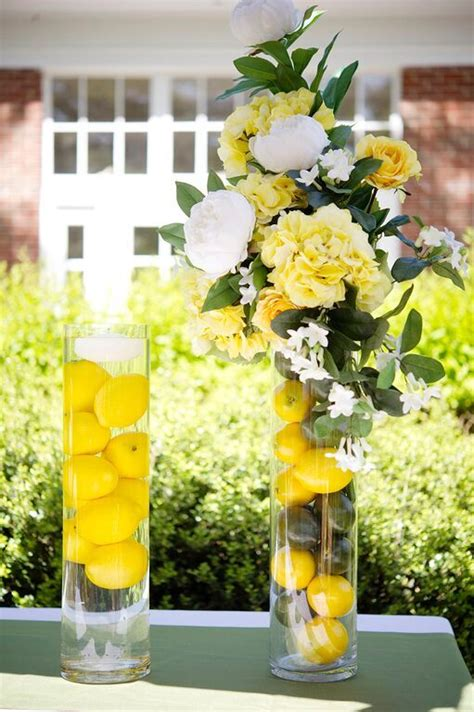 fun summer floral arrangements fill  clear glass