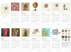 2011 art calendar Art & Musings
